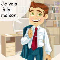 Learn French online with our mini French lessons. I'm going home!